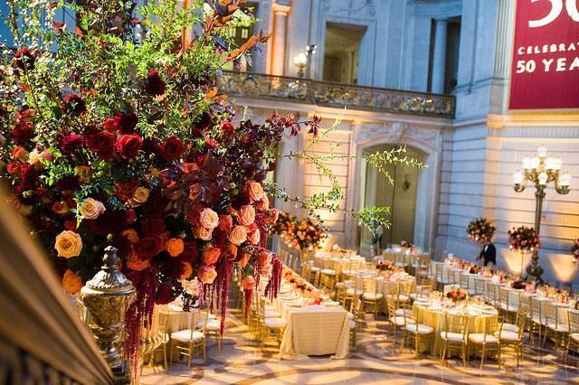 50th Anniversary Dinner | Paul Robertson Floral