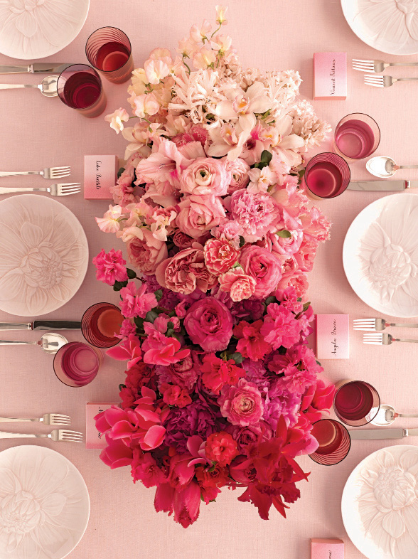 Martha Stewart Weddings Paul Robertson Floral